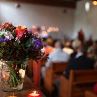 wrongful death concept Gottesdienst in der Kirche
